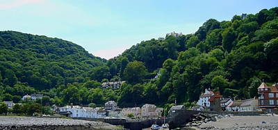 Colorful Button - Lynmouth by Jeff Townsend