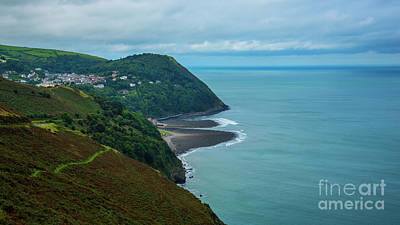 Photograph - Lynmouth North Devon by Chris Thaxter