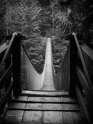 Lynn Canyon Bridge Art Print