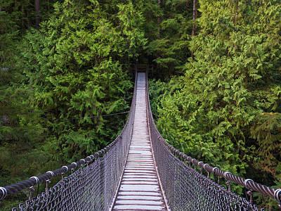 Photograph - Lynn Canyon Suspension Bridge by Jaden Nyberg