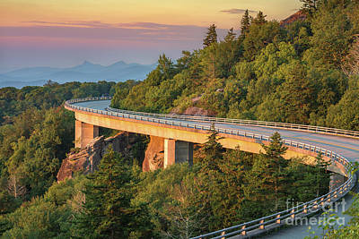 Photograph - Lynn Cove Viaduct by Anthony Heflin