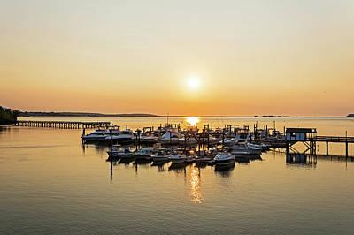 Photograph - Lynn Harbor Sunrise Lynn Ma by Toby McGuire