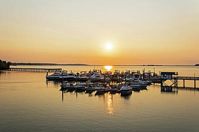 Photograph - Lynn Harbor Surise Lynn Ma by Toby McGuire