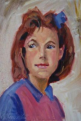 Painting - Lynn by Len Stomski