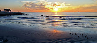 Photograph - Lynn Sunrise Large Print by Toby McGuire