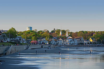 Photograph - Lynn Waterfront Swampscott Water Tower Lynn Ma by Toby McGuire