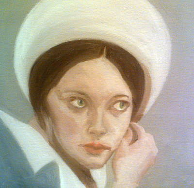 Painting - Lynne Frederick As Tatiana Romanov by Peter Gartner