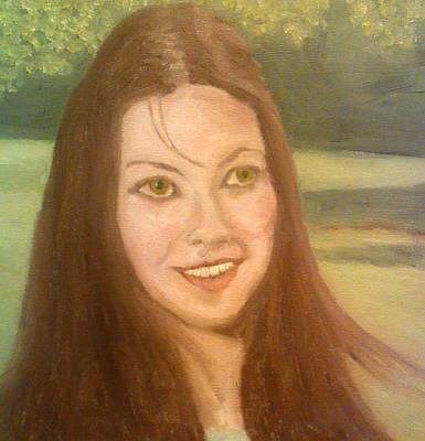 Lynne Frederick  Art Print
