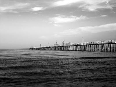 Photograph - Lynnhaven Fishing Pier by Evelyn Odango