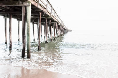 Photograph - Lynnhaven Fishing Pier by Lisa McStamp