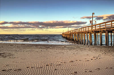 Photograph - Lynnhaven Pier  by Pete Federico