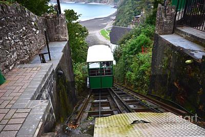 Railways Photograph - Lynton And Lynmouth Cliff Railway by Nichola Denny