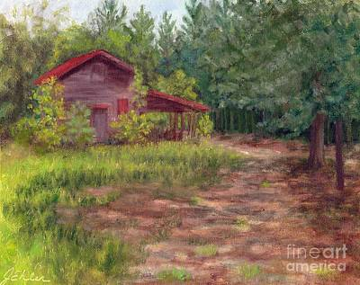 Painting - Lynwoods Barn by Jean Ehler