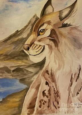 Painting - Lynx by Maria Urso