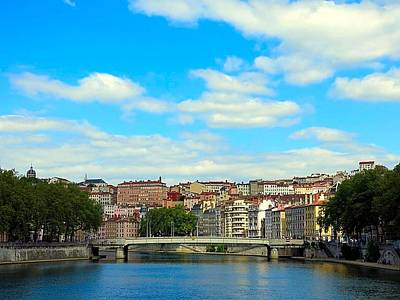Photograph - Lyon On The Saone River by Betty Buller Whitehead