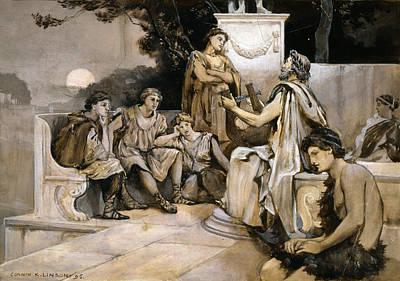 Lyre Of Pindar, 1896 Art Print by Granger