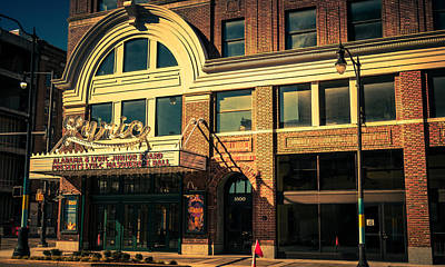 Photograph - Lyric Theater by Phillip Burrow