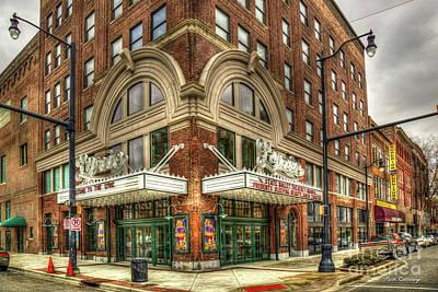 Photograph - Lyric Theatre Historic Vaudeville Theatre Birmingham Alabama Art by Reid Callaway