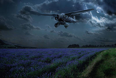 Photograph - Lysander On Secret Operation by Gary Eason