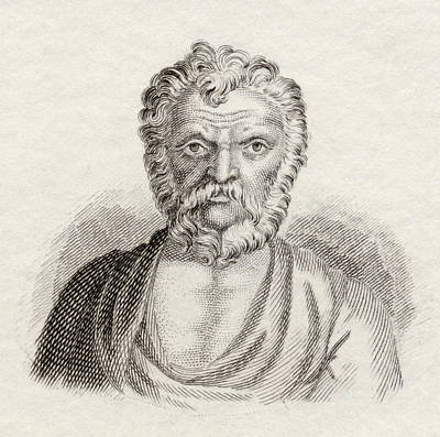 Orator Drawing - Lysias, C. 445 Bc To C. 380 Bc by Vintage Design Pics