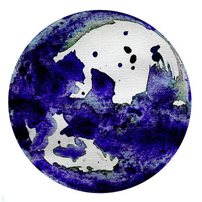 Cosmic Space Painting - Lysithea by Stevyn Llewellyn