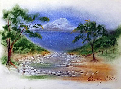 Painting - Lytle Creek by Carl Owen