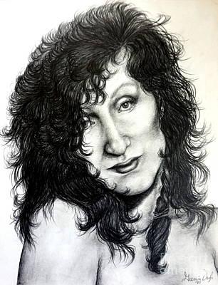 Drawing - Lyza by Georgia's Art Brush