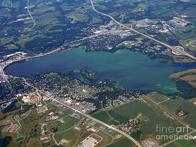 Photograph - M-034 Menomim Lake Dunn County Wisconsin by Bill Lang