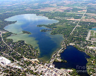 Photograph - M-036 Lac La Belle Lake B Waukesha County Wisconsin by Bill Lang