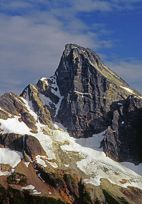 Photograph - M-04265 North Face Luna Peak by Ed Cooper Photography
