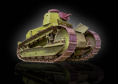 Photograph - M-1917 Us Army Tank by Gary Warnimont