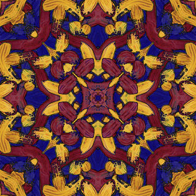 Digital Art - M A Y -month- -pattern- by Coded Images
