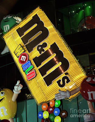M And M Sign Original