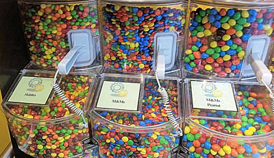 Photograph - M And Ms Buy Bulk by Robert Banach