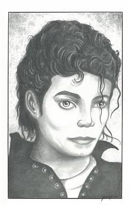 M. J. Art Print by Julian  B