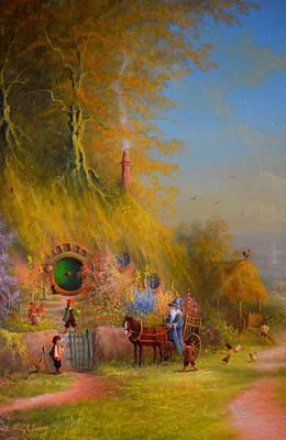Painting - Meeting Of Old Friends by Joe Gilronan