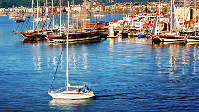 Photograph - Turkish Riviera by Maria Coulson