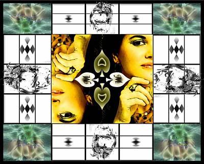 Digital Art - M Of Spades by Afrodita Ellerman