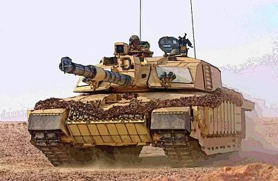 Photograph - M1 Abrams Tank by Herb Paynter