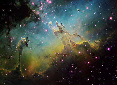 M16 The Eagle Nebula Art Print