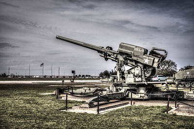 M1a 120mm Skysweeper Antiaircraft Gun  Art Print by Debra Forand