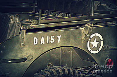 Photograph - M1a1 Jeep by Ruth Jolly