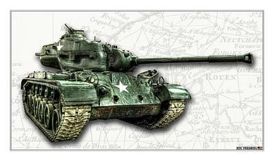Photograph - M26 Pershing Tank by Weston Westmoreland