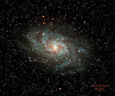Photograph - M33 - Triangulum Galaxy by Chuck Caramella