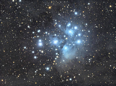 Photograph - M45 - Pleiades by Dennis Sprinkle
