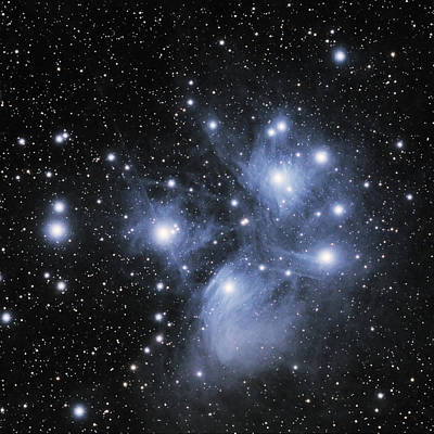 Photograph - M45--the Pleiades by Alan Vance Ley