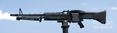Photograph - M60 Machine Gun by Jon Burch Photography
