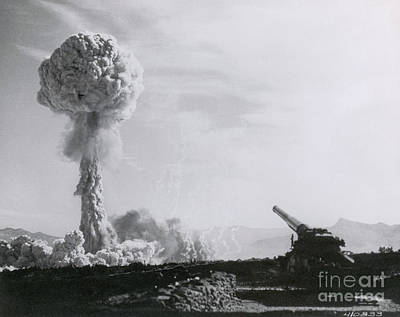 M65 Atomic Cannon Art Print
