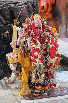 Durga Photograph - Ma Durga, Haridwar by Jennifer Mazzucco