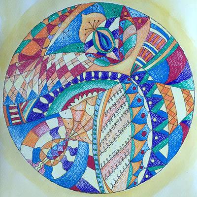 Lady Bug - Maa Mandala by Whitney Christmas